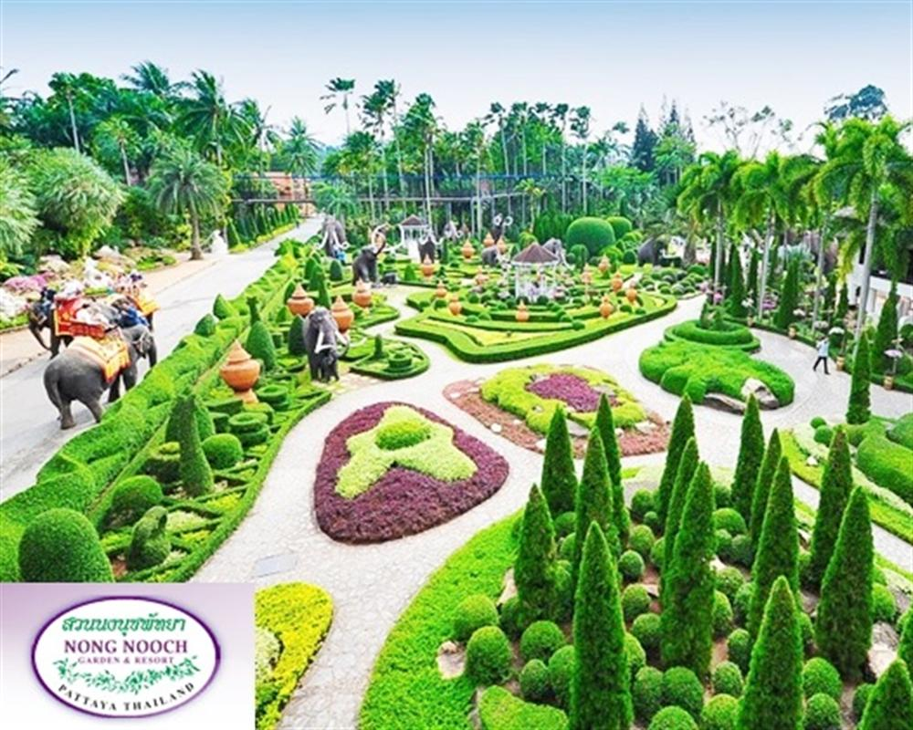 Nong Nooch Tropical Garden Pattaya