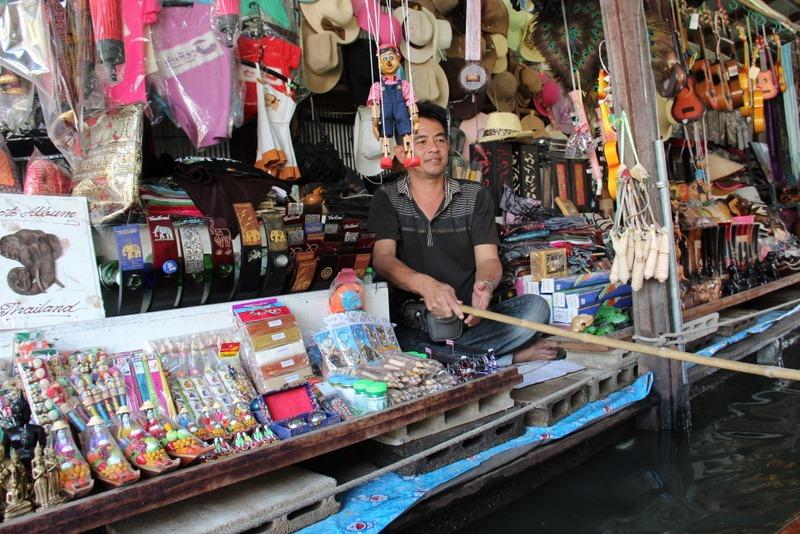 Damnoen Saduak Floating Market  Thailand, Bangkok DayTrip