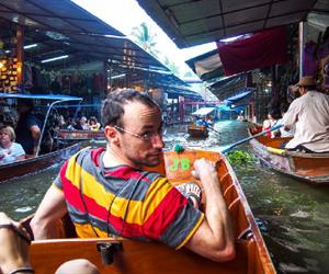 Damnern Saduak Floating Market | Bangkok