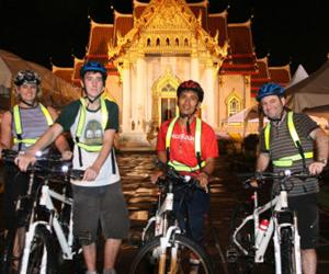 Rattanakosin Island Sunset Cycling Tour | Bangkok