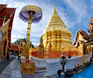 Doi Suthep and White Hmong Village Trek (Full Day)