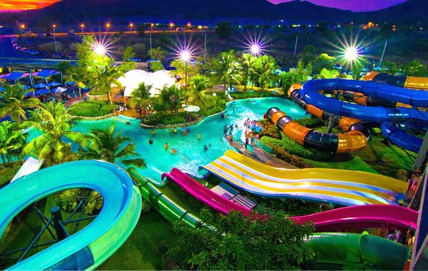 Black Mountain Water Park  Thailand, Hua Hin Show & Ticket