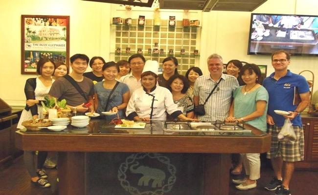 blue elephant cooking school thailand bangkok cooking class