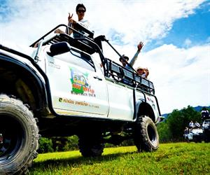 Koh Samui 4WD Jeep Jungle Tour
