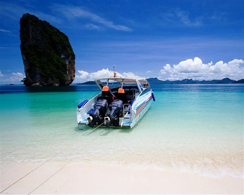 Krabi 4 Islands by Speed Boat
