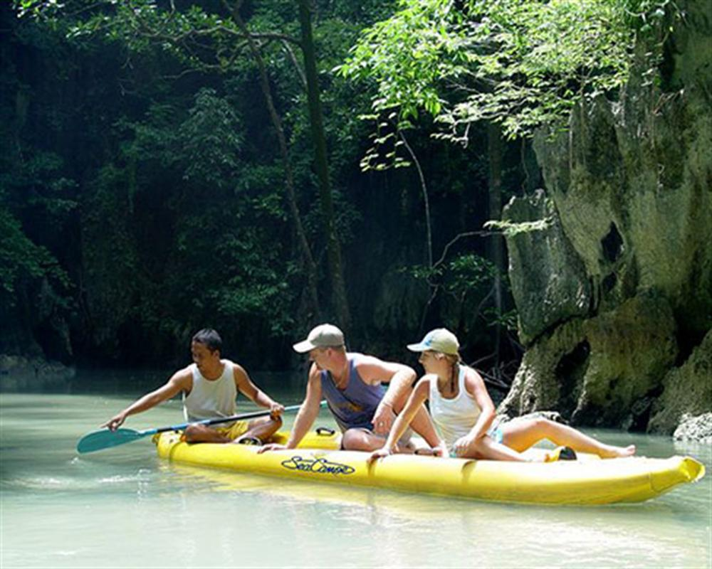 Phang Nga Day Trip by Sea Canoe (Depart from Phuket)