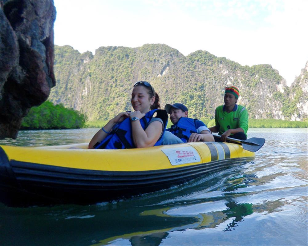 Phang Nga Sunset Dinner Trip by Sea Canoe