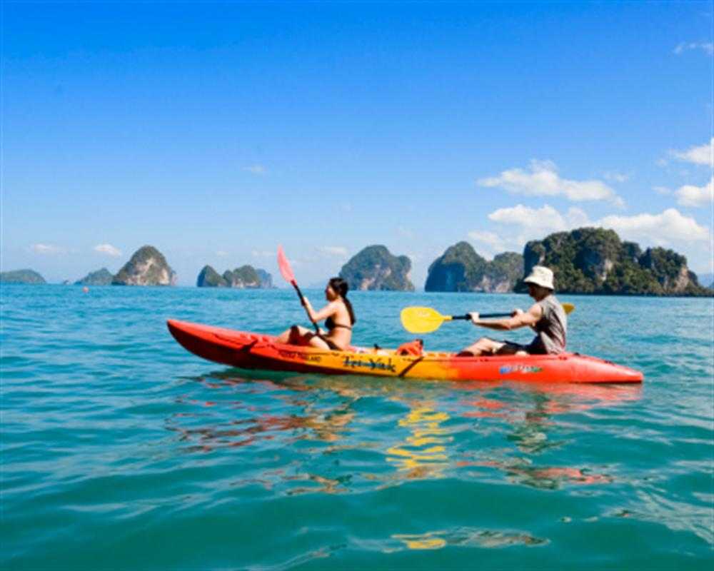 Phang Nga Bay Self Paddle from Phuket by Escort Boat