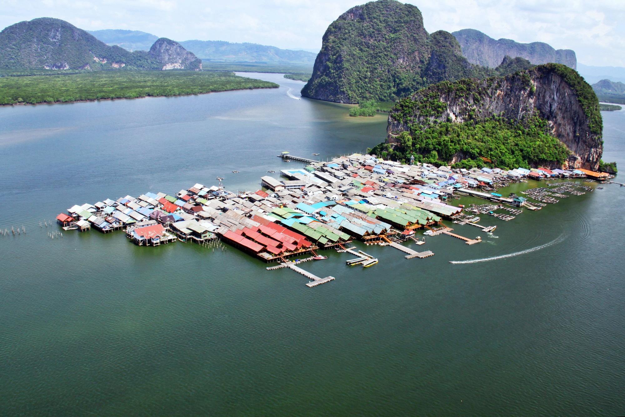 james bond island and sea cave canoe thailand phang nga water activity