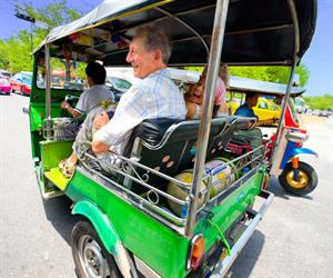 City Tour by MRT - Mass Rapid transit, Boat and Tuk Tuk