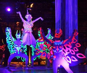Illumination Nora at Paka Show Park Krabi