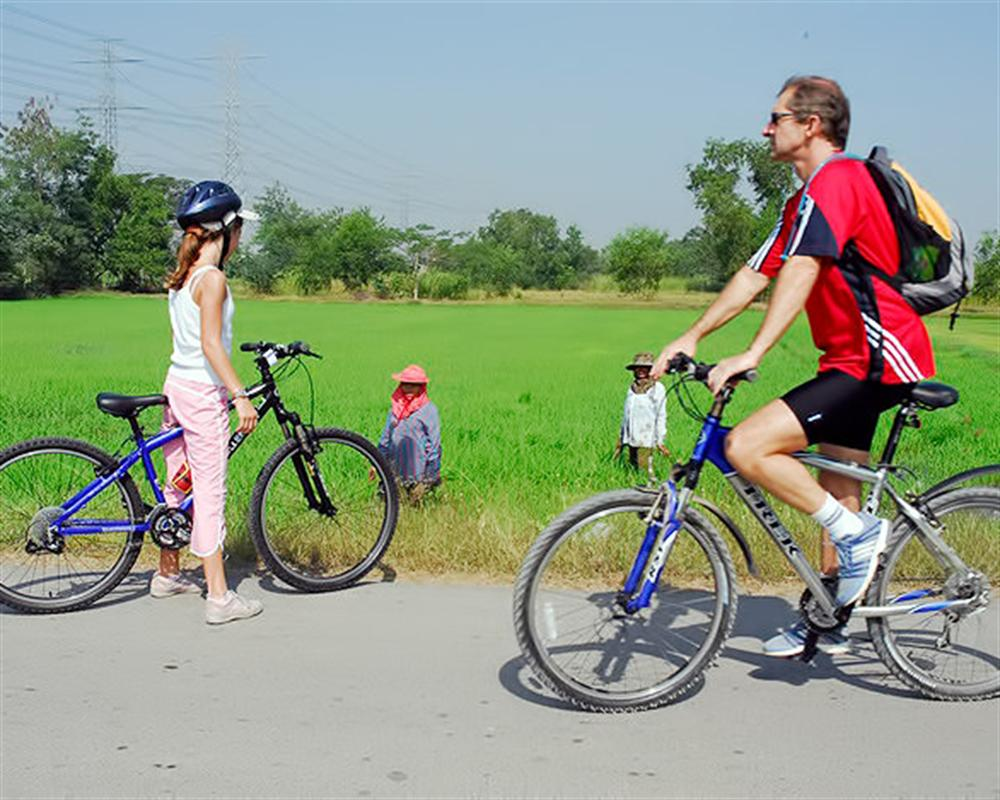 Bangkok Countryside Cycling Tour