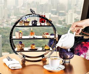 Afternoon Tea Vertigo Too at Banyan Tree Bangkok