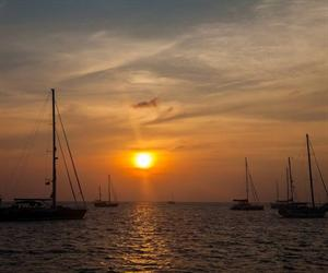 Sunset Sailing Catamaran Maithon Island