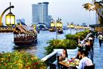 BBQ Buffet Dinner at Riverside Terrace Anantara Riverside Bangkok