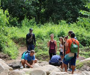 Jungle Trek and White Water Rafting Tour