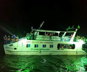 Night Squid Fishing Tour | Chumphon