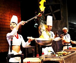 Cookin Nanta Show Bangkok (Worldwide, Japanese, Korean, Israeli Except Asian)