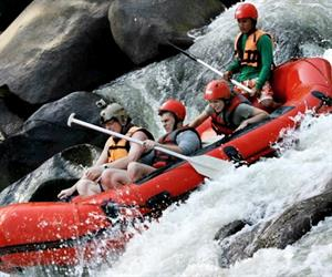 White Water Rafting and Elephant Trekking Chiang Mai