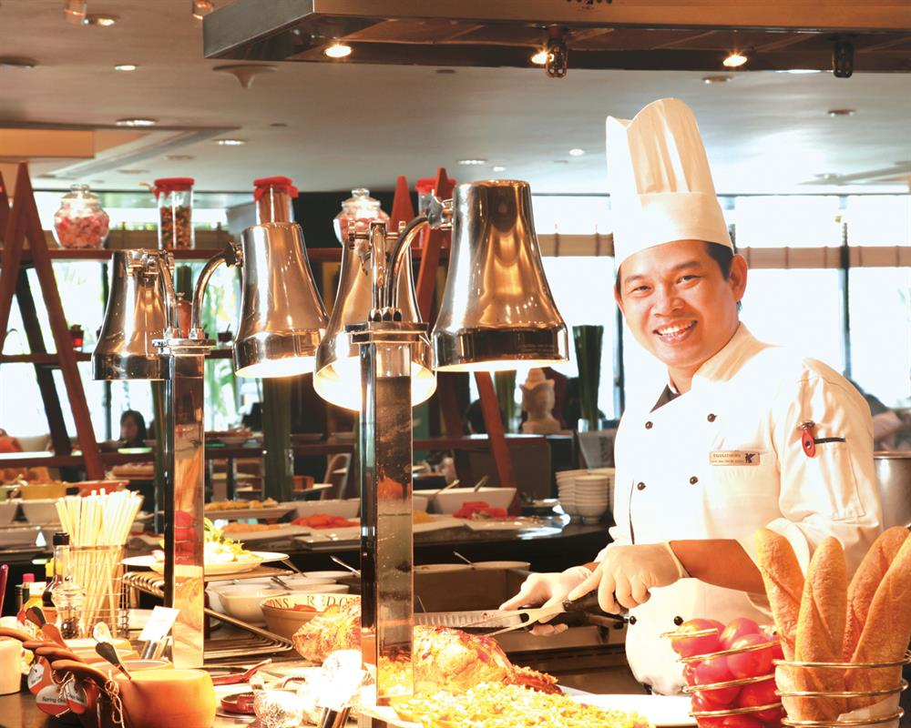 International Buffet @Marriott Cafe