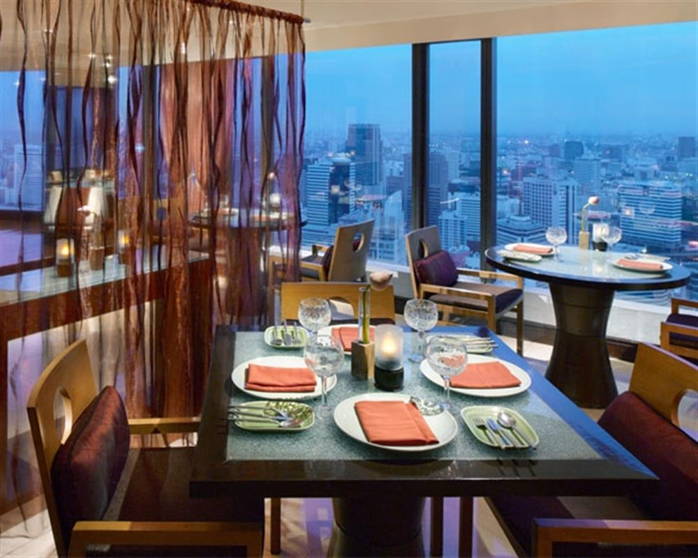 Saffron, 52nd Floor at Banyan Tree Bangkok