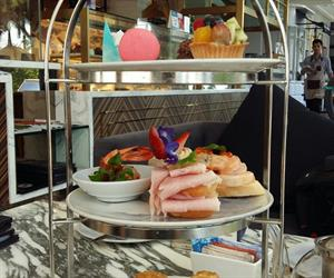 Afternoon Tea Set at Pastry Addiction at Mera Mare Hotel Pattaya