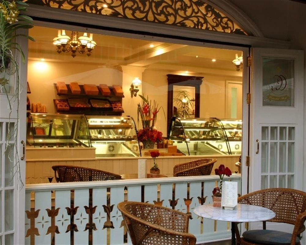 Afternoon Tea Set @ Cake Shop at Dhara Dhevi Chiang Mai