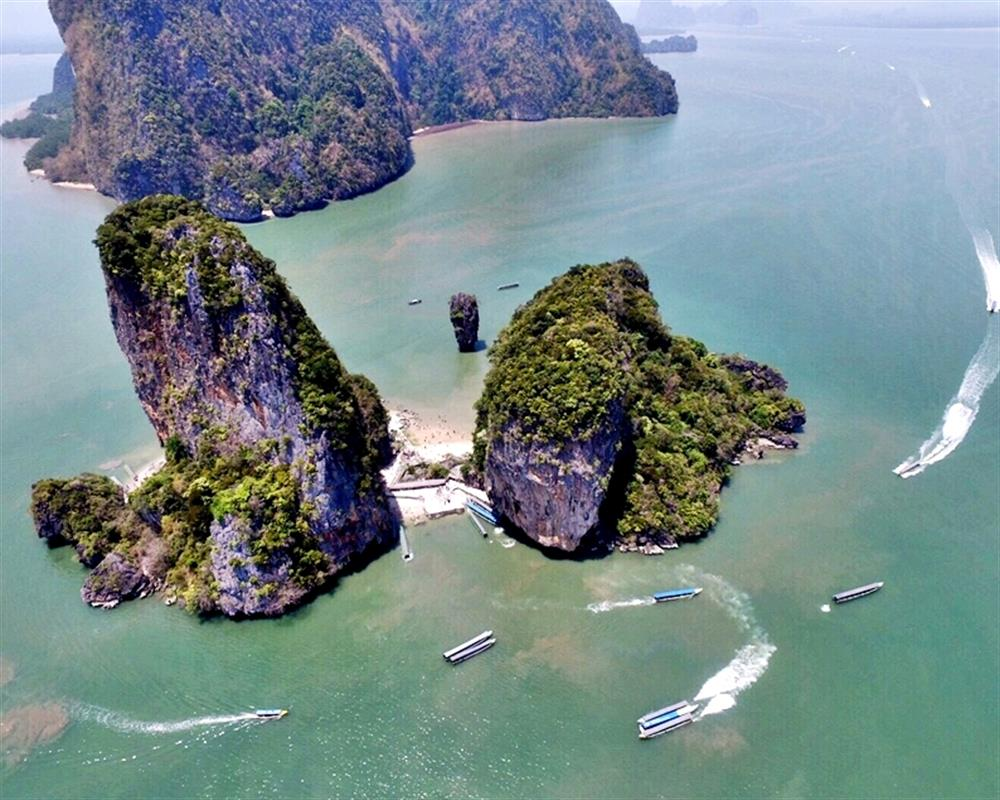 James Bond Island Tour by Big Boat