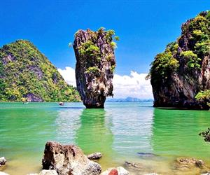 5 in 1 James Bond Island By Big Boat 3 Canoeing | Phuket