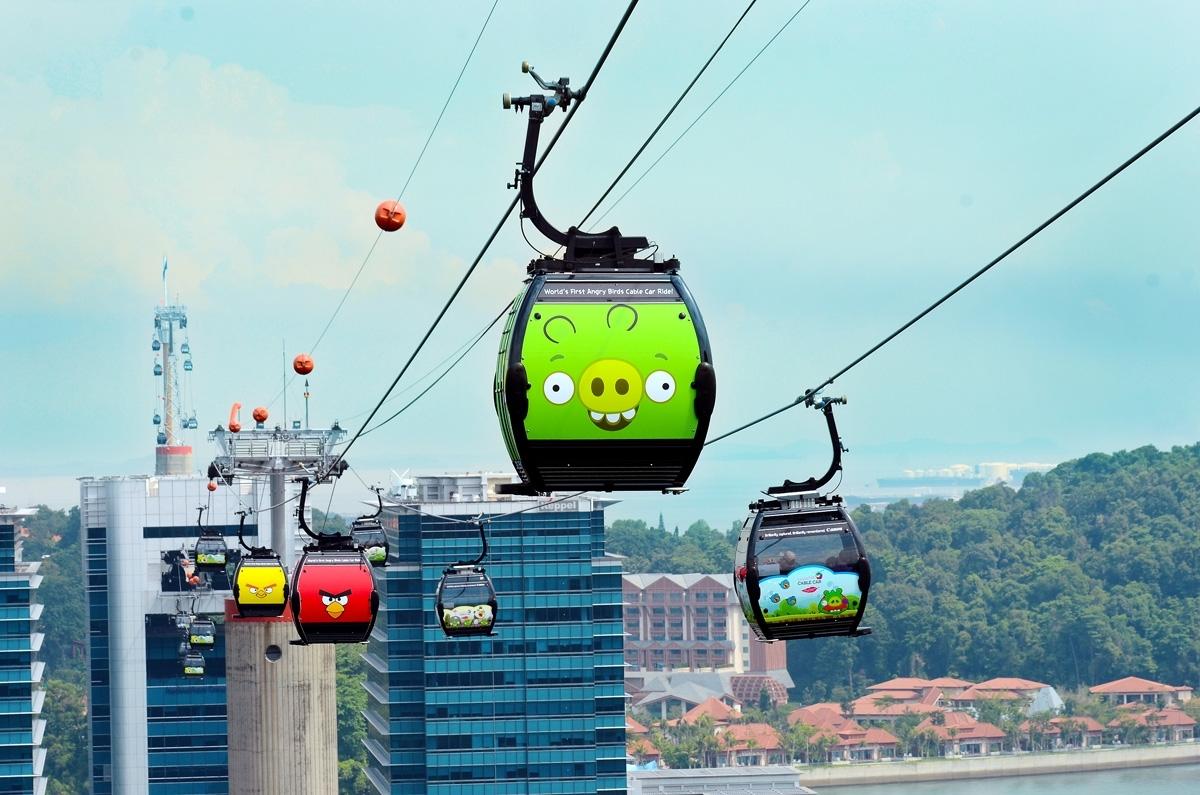 Cable Car Drink: Singapore, Bukit Merah Show